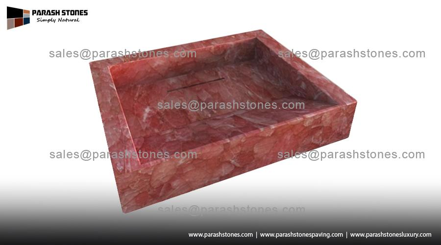 Semi Precious Gemstone Wash Basin Amp Sink Manufacturer Best