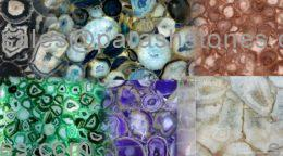 collection of all agates semi precious gemstone