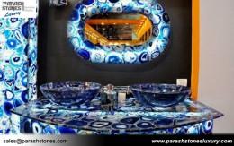 Blue Agate Bathroom Vanity