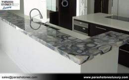 Grey Agate Countertop