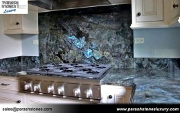 Labradorite Kitchen Backsplash