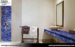 Lapis Lazuli Bathroom