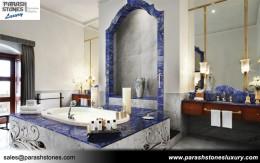 Lapis Lazuli Bathroom Decor