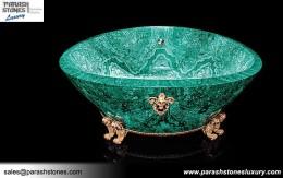 Malachite Bath Tub