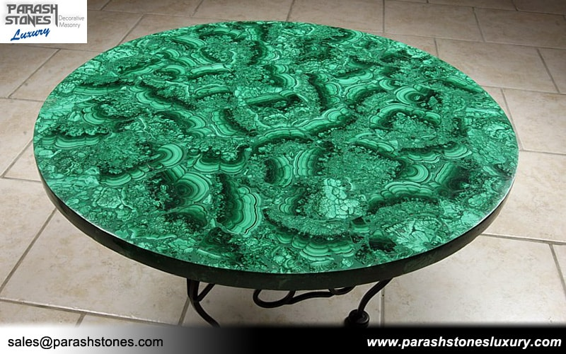 Luxury Slab Amp Furniture In Malachite Semi Precious
