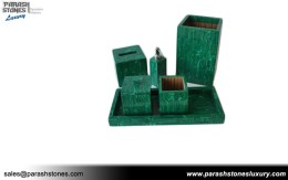 Malachite Vanity Set