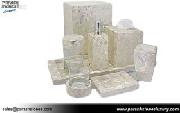 Mother Of Pearl Vanity Set