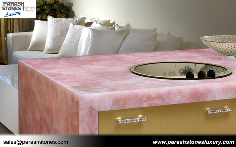 Rose Quartz Bathtub Ideas