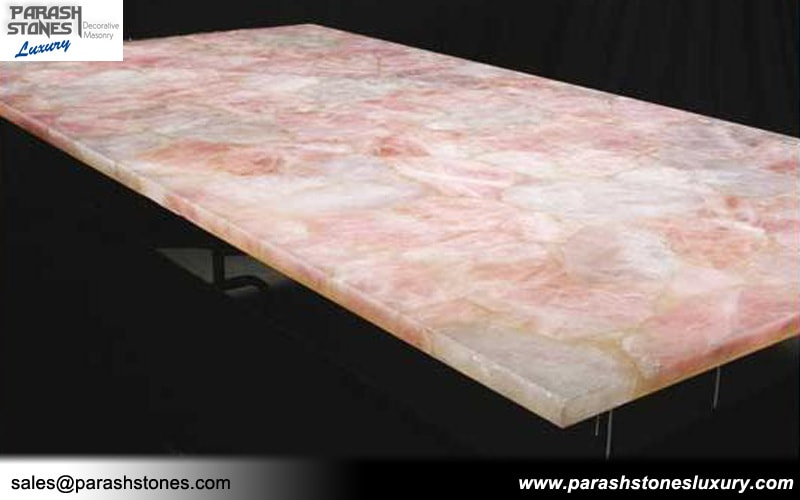 Pink Quartz Table Top