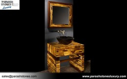 Tiger Eye Bathroom Vanity