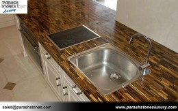 Tiger Eye Kitchen Counter