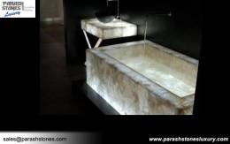 Semi Precious Bathtub Amp Bathroom Vanity