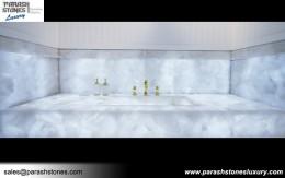 White Quartz Vanity Top