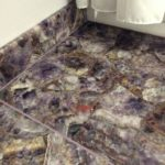 Amethyst bathroom floor 2