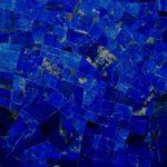 Picture of lapis lazuli slab,tiles & surface in medium blue