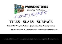 price list for semi precious gemstone slab, tiles & surface
