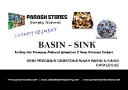 price list and catalogue for semi precious gemstone wash basin & sinks