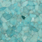 Picture of green amazonite slab, tiles & surface
