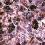 picture of amethyst slab, tiles & surface in chip design