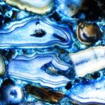 Blue gava agate