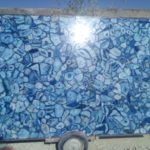 Blue agate slab large size 4
