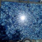 Blue agate slab large size 3