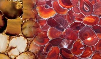 Carnelian slab & surface collection