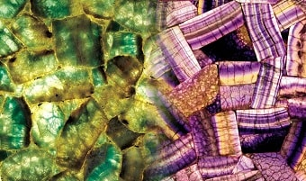 Fluorite slab & surface collection