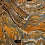 picture of matrix tiger eye slab, tiles & surface
