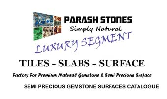 Semi precious slab & surface sale price list & catalogue