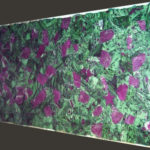 picture of ruby zoisite slab, tiles & surface