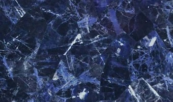 Sodalite slab & surface collection
