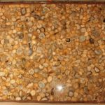 picture of yellow agate slab, tiles & surface