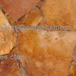 picture of yellow aventurine slab tiles & surface