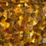 picture of yellow quartz slab, surface & tiles