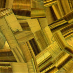 Picture of yellow tiger eye slab, tiles & surface