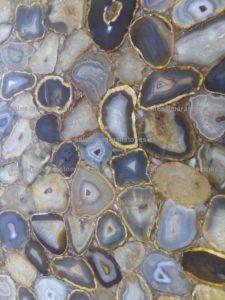 Golden brown agate countertop Dubai